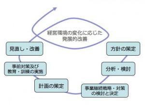 安否確認基本資料 BCPのプロセス図