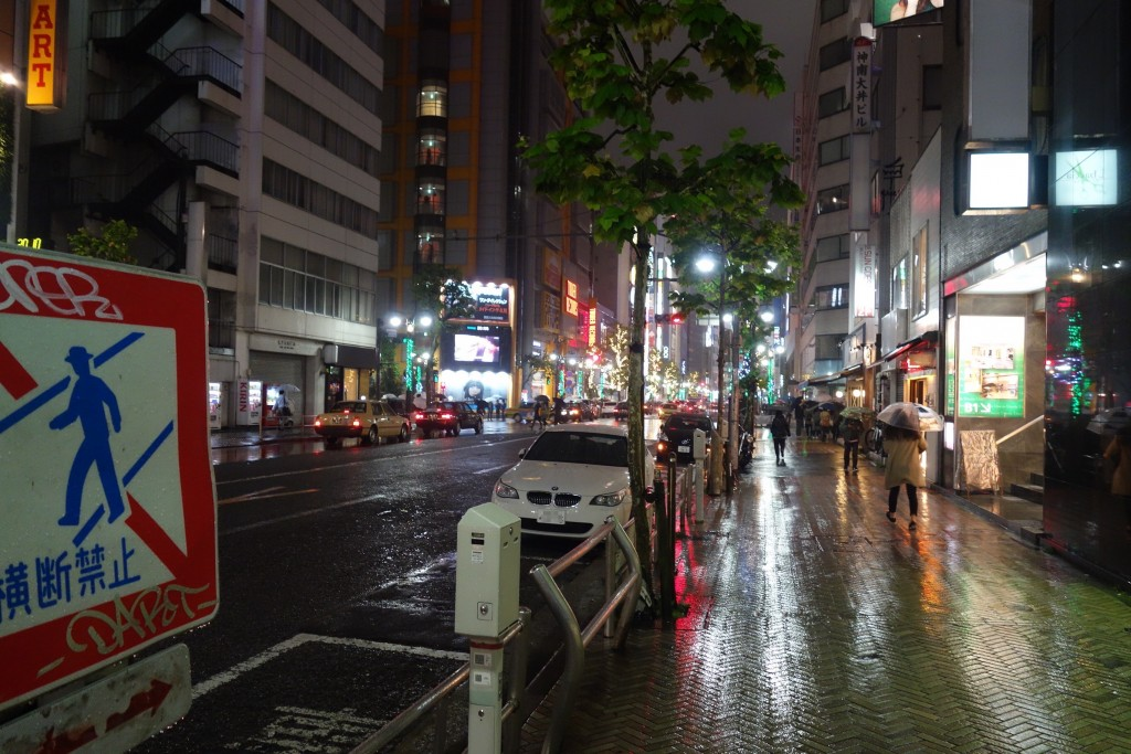 渋谷の街もキラキラしてる